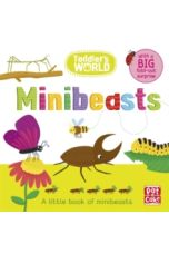 Toddler's World: Minibeasts : A little board book of minibeasts with a fold-out surprise