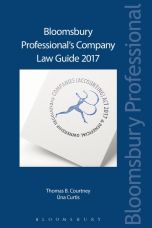 Bloomsbury Professional's Company Law Guide 2017