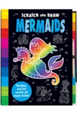 Scratch and Draw Mermaids - Scratch Art Activity Book
