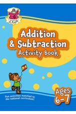 New Addition & Subtraction Home Learning Activity Book for Ages 6-7
