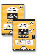 Edco Exam Papers: Music Composing & Listening Higher & Ordinary Levels (Leaving Cert 2022)
