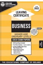 Edco Exam Papers: Business Higher & Ordinary Level (Leaving Cert 2022)