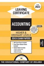 Edco Exam Papers: Accounting Higher & Ordinary Levels (Leaving Cert 2022)
