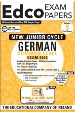 Edco Exam Papers: German Common Level Papers (New Junior Cycle Exam 2022)