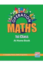 Operation Maths 1 At School Book and Assessment (1st Class)