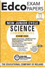 Edco Exam Papers: Science Common Level Papers (New Junior Cycle Exam 2022)