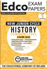 Edco Exam Papers: History Common Level Papers (New Junior Cycle Exam 2022)