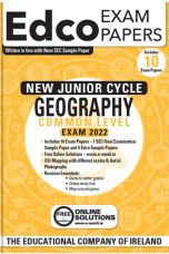 Edco Exam Papers: Geography Common Level Papers (New Junior Cycle Exam 2022)