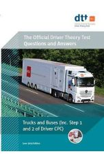 Official Driver Theory Test 9th ed Trucks and Buses Book