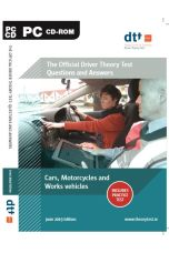 Official Driver Theory Test CD-Rom: Cars, Motorcycles & Work Vehicles (2019 Edition)
