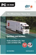 Official Driver Theory Test 9th ed Trucks and Buses CD-Rom (June 2019) Questions and Answers)